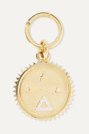 Dream 18-karat gold diamond pendant
