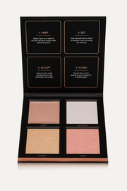Huda Beauty 3D Highlighter Palette - Pink Sands
