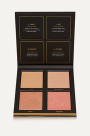 Huda Beauty 3D Highlighter Palette - Golden Sands