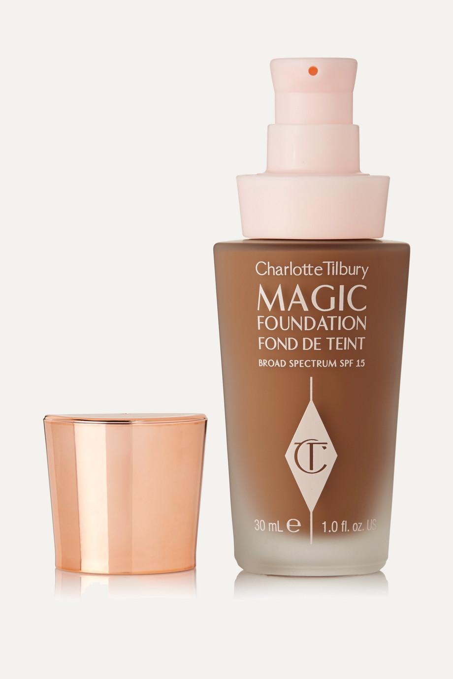 Charlotte Tilbury Fond de teint zéro défaut tenue longue durée Magic Foundation SPF 15, Nuance 11.5, 30 ml