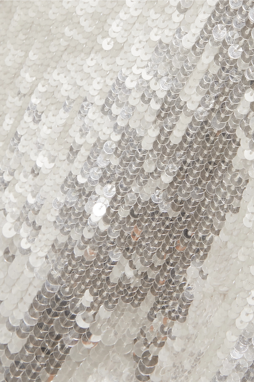 Temperley London Bardot sequined crepe jumpsuit