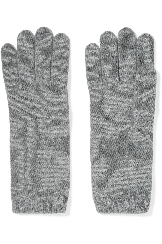 Johnstons of Elgin + NET SUSTAIN Set aus Beanie, Schal und Handschuhen aus Kaschmir