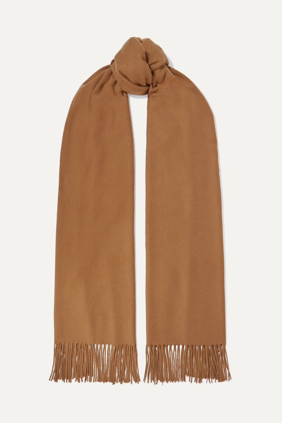 Johnstons of Elgin Fringed vicuña stole