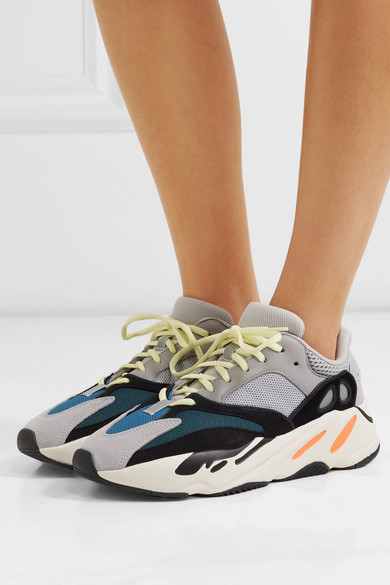 new arrivals fd988 ef832 Yeezy Boost 700 Wave Runner leather and mesh sneakers