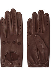 Faye leather gloves