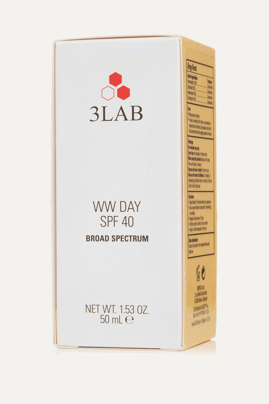 3LAB WW Day Cream LSF 40, 50 ml – Tagescreme