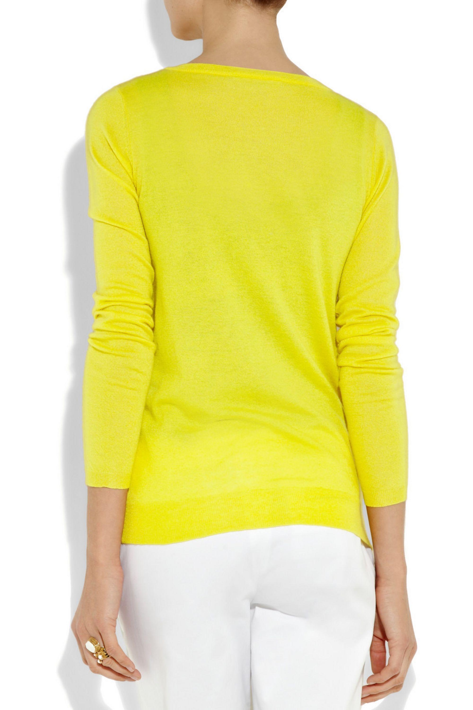 Crumpet Fine-knit cashmere cardigan