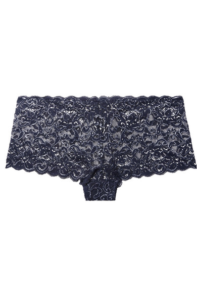 Hanro Pants Moments stretch-lace briefs