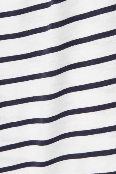 Hanro Accessories Laura striped cotton and modal-blend pajama set