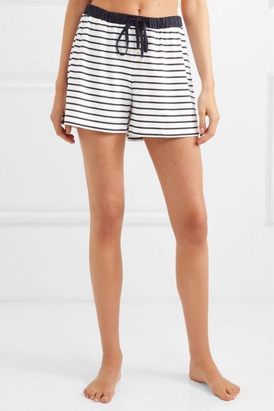 cd37fe54cb Hanro | Laura striped cotton and modal-blend pajama set | NET-A ...
