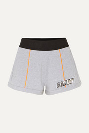 Superfly French cotton-terry shorts