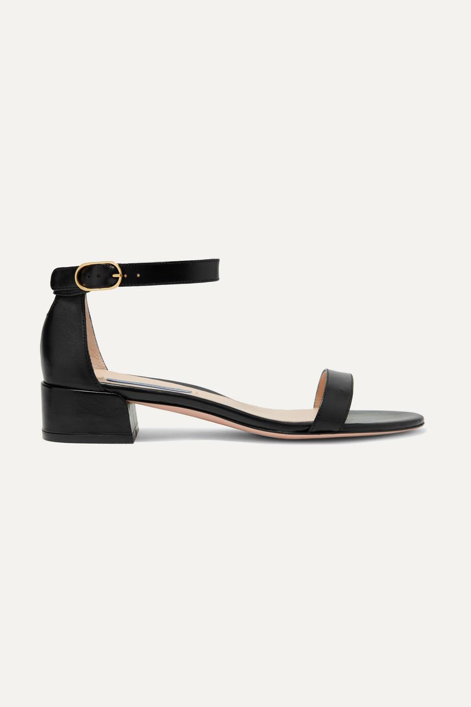 Stuart Weitzman NudistJune leather sandals