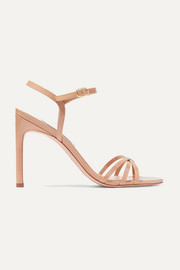 Starla patent-leather sandals