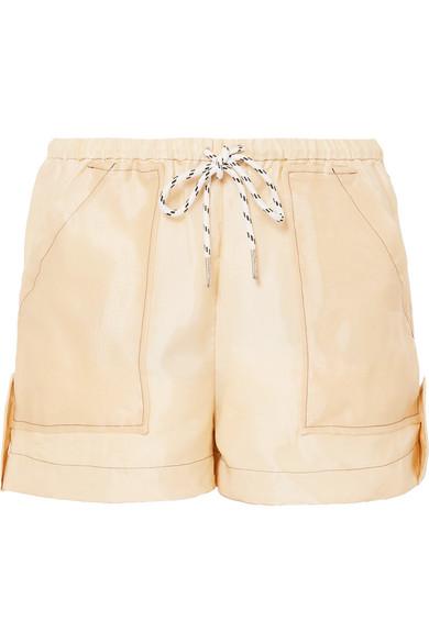 Ganni Linings Organza shorts