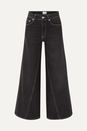 Camfield high-rise wide-leg jeans