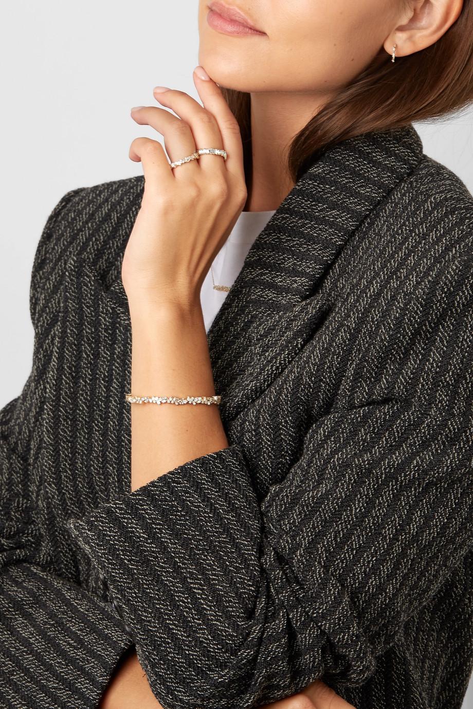 Suzanne Kalan 18-karat gold diamond ring