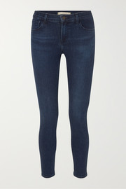 811 high-rise stretch skinny jeans