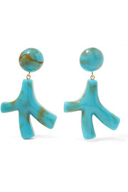 Valet Noemie resin earrings