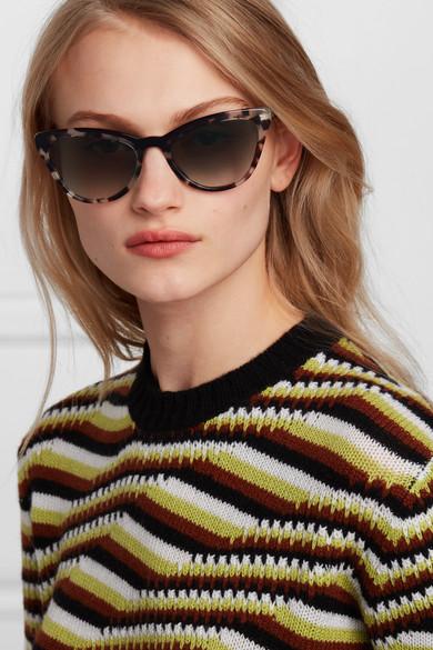 1c5eeec2a Prada | Cat-eye tortoiseshell acetate sunglasses | NET-A-PORTER.COM