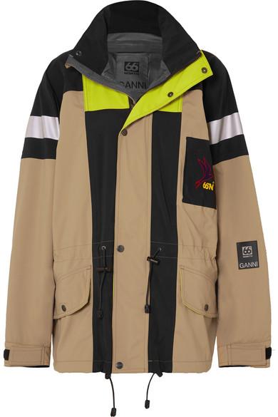 Ganni Jackets + 66North Heklar shell jacket