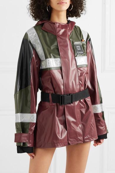 2c8a8e2a5 GANNI   + 66North Askja coated ripstop jacket   NET-A-PORTER.COM