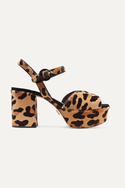 Leopard print 85 leopard-print calf