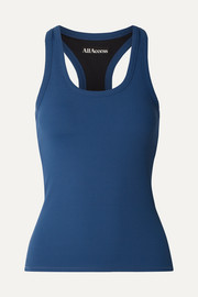 All Access Session ribbed stretch tank