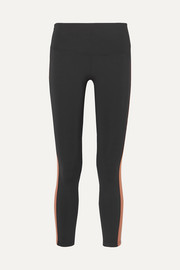 Titus Ankle striped stretch leggings