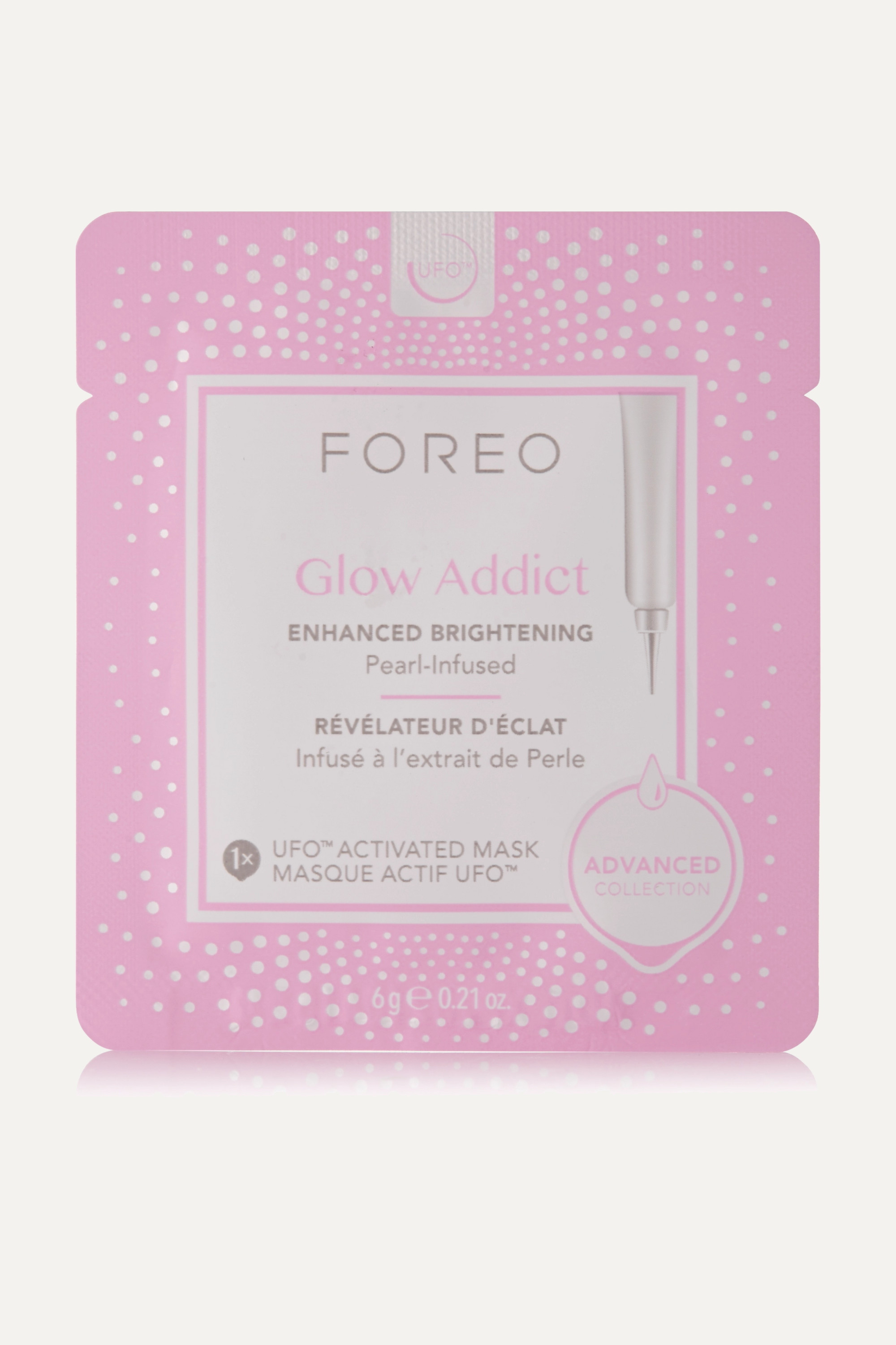 Foreo Glow Addict UFO Brightening Face Mask x 6