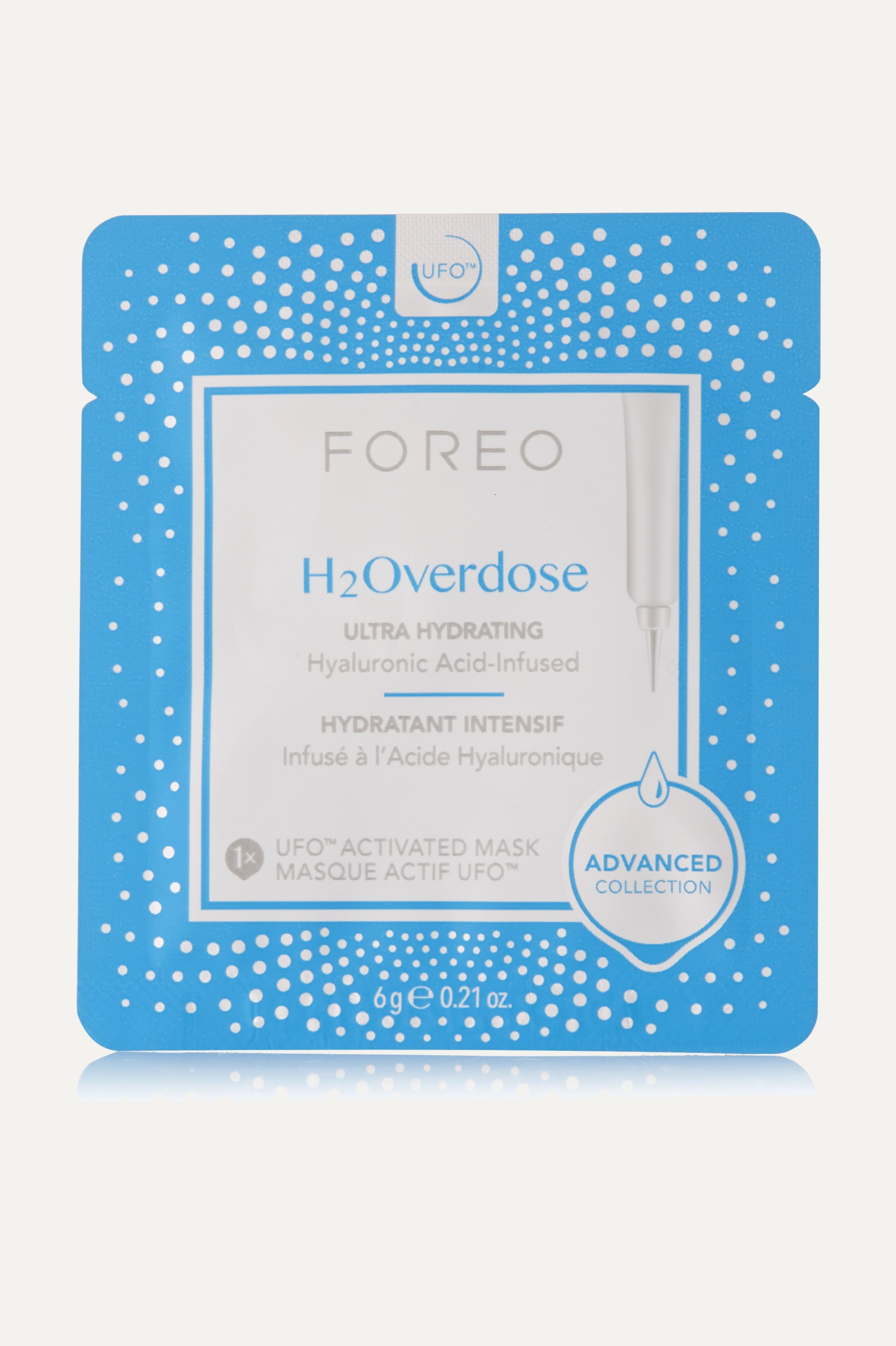 Foreo H2Overdose UFO Ultra Hydrating Face Mask for Dry Skin x 6