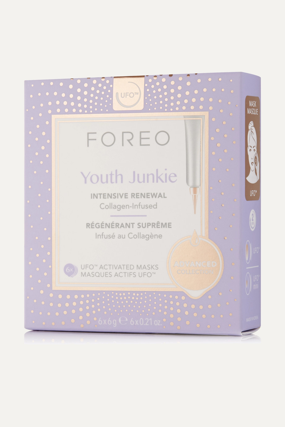 Foreo Youth Junkie UFO Collagen Mask x 6