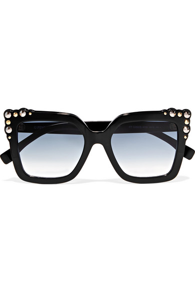 c4a91485ea1f Fendi Women S Embellished Square Sunglasses