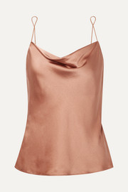 Ranya stretch-silk satin camisole