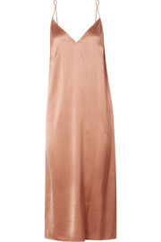 Rosamonde stretch-silk satin chemise