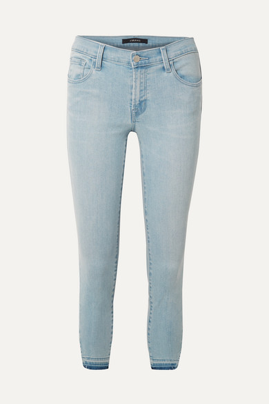 J Brand Jeans 835 cropped mid-rise skinny jeans