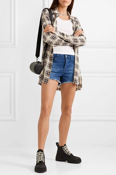 J Brand Shorts Gracie distressed denim shorts