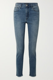 Ruby 30 high-rise slim-leg jeans