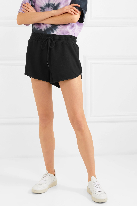Ninety Percent + NET SUSTAIN Farrah organic cotton-jersey shorts