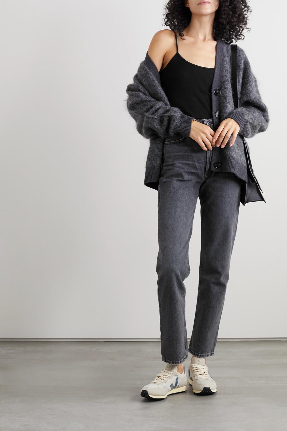 Ninety Percent Ribbed organic cotton-jersey camisole