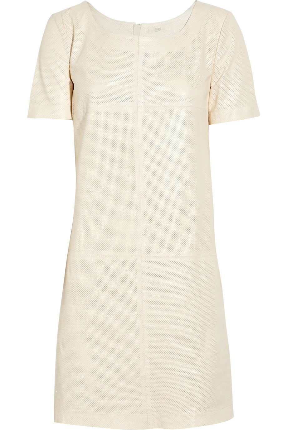 J.Crew Perforated Leather Shift Dress, Size: 6