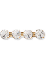 Estasi gold-tone crystal hairclip
