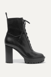 Martis 90 lace-up leather ankle boots