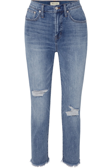Madewell Jeans The Perfect Vintage high-rise straight-leg jeans