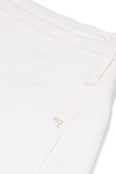 Madewell Jeans Frayed high-rise skinny jeans