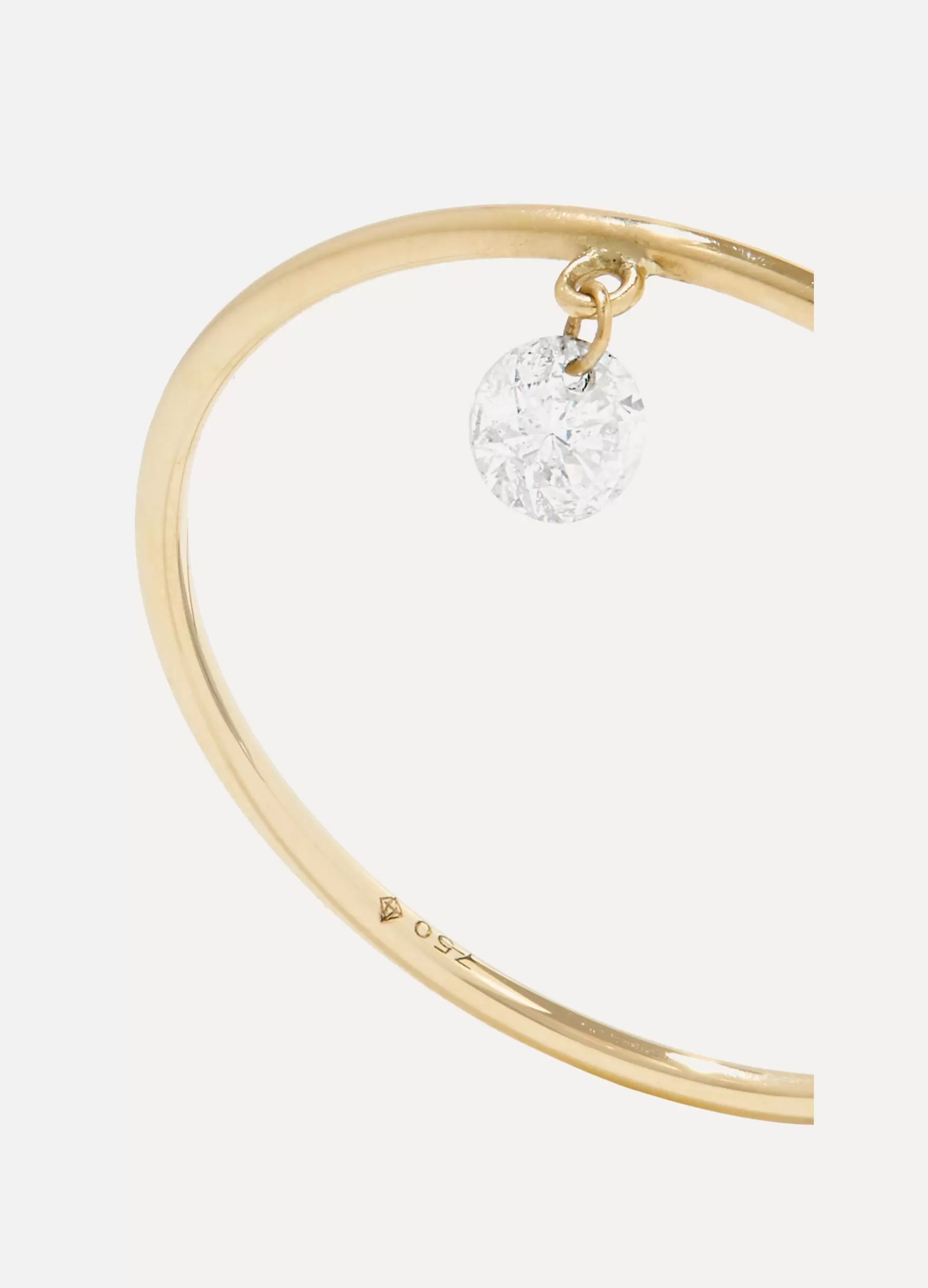 Persée Danae gold diamond ring