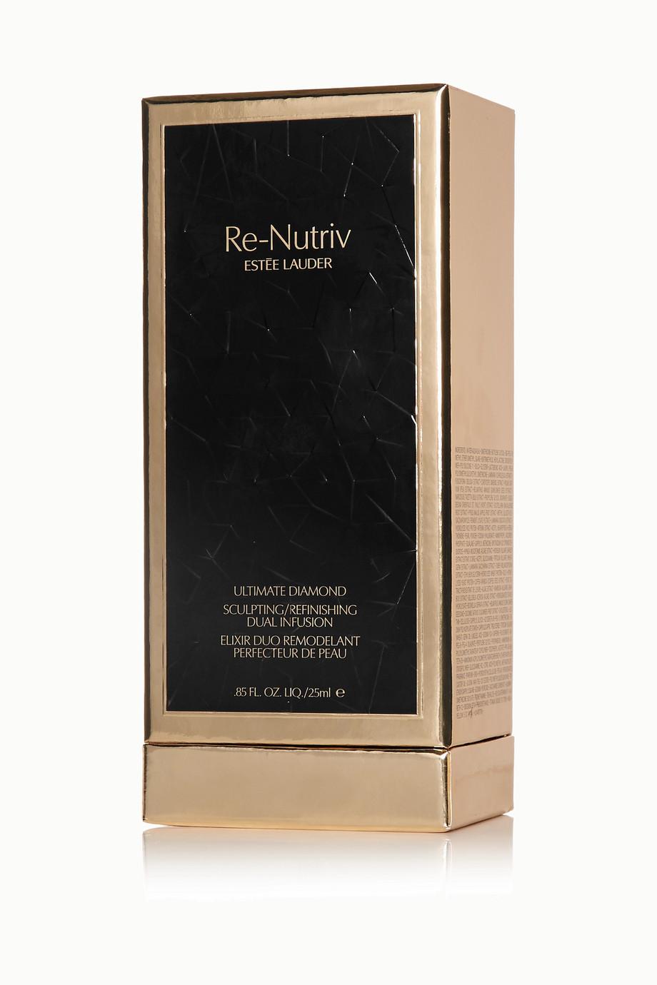 Estée Lauder Re-Nutriv Ultimate Diamond Sculpting Refinishing Dual Infusion Serum, 25ml