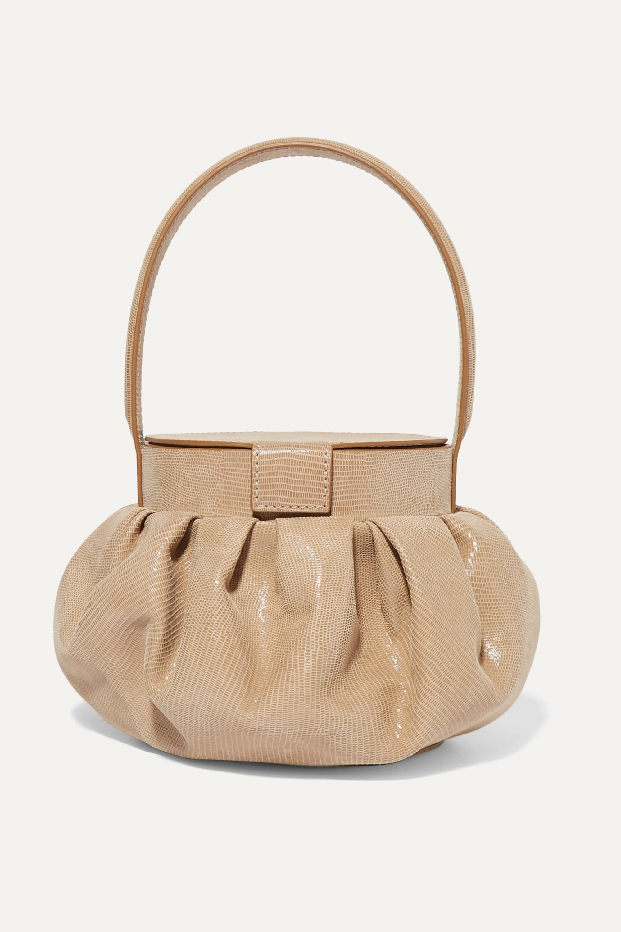 REJINA PYO Agnes lizard-effect leather tote