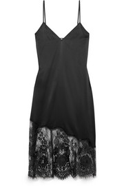 Cami NYC The Selena lace-trimmed stretch-silk charmeuse chemise