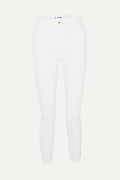 Ali High Rise Skinny Jeans by Frame