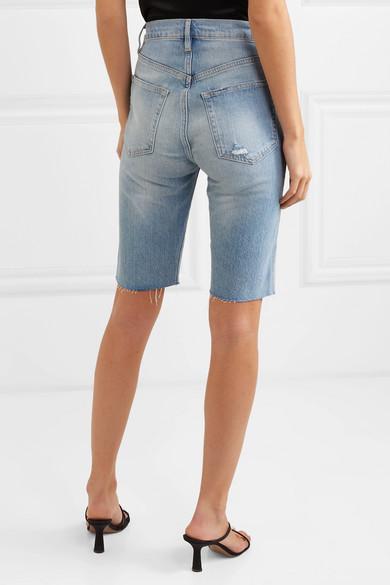 794af06158 Le Vintage Bermuda frayed denim shorts. £195 £11740% OFF. Reduced further.  Play